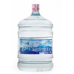 Вода питьевая «Горный кристалл» 19л. в оборотной таре
