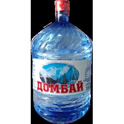 """Вода """"Домбай"""" 19 л. в одноразовой таре"""