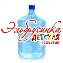 """Вода """"Эльбрусинка"""" 19 л. в оборотной таре"""