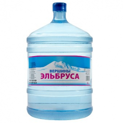 """Вода """" Вершины Эльбруса"""" 19 литров в оборотной таре"""