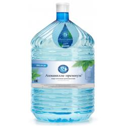 """Питьевая артезианская вода """"Аквавилле премиум"""" 19 л. в одноразовой таре"""