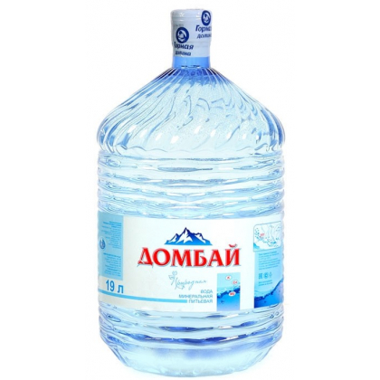 "Вода ""Домбай Ульген"" 19 л. в одноразовой таре"