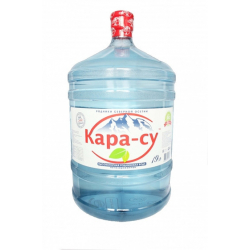 "Вода ""Кара-су"" 19 литров в оборотной таре"