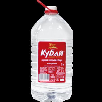 """Вода """"Кубай"""" 5 л. (2 шт. в упаковке)"""