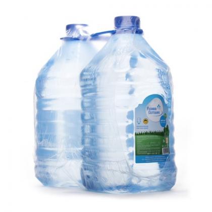 """Вода """" Родники Светлояра """" 5 литров (2 шт. в упак.)"""