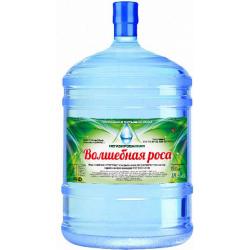 """Вода  """"Волшебная роса"""" 18,9 л. в оборотной таре"""