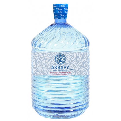 "Вода ""Аквару"" 19 л. в одноразовой таре"