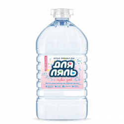 """Вода питьевая """"Для ляль"""" 5 литров ( 2 шт. в упаковке)"""