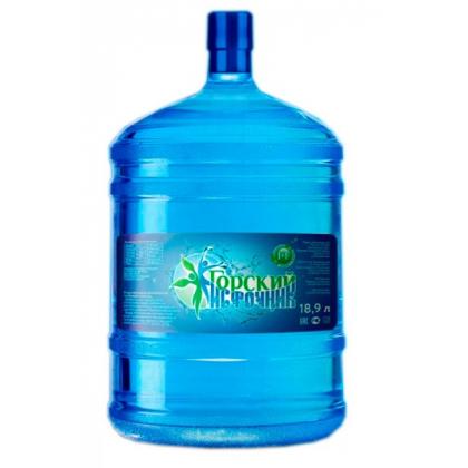 """Вода питьевая минеральная """"Горский источник"""" 19 л. в оборотной таре"""