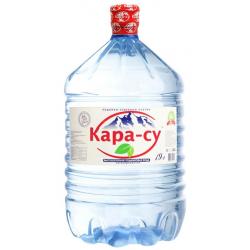 """Вода """"Кара-су"""" 19 л. в одноразовой таре"""