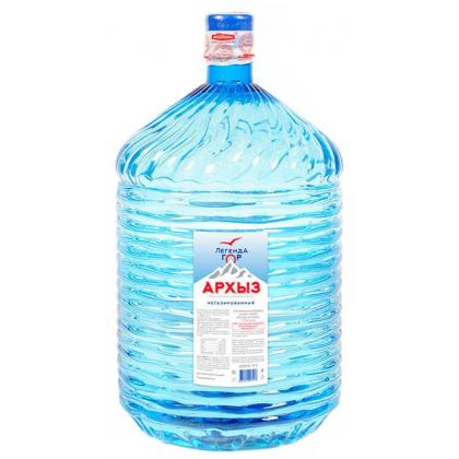 """Вода """"Легенда Гор Архыз"""" 19 л. в одноразовой таре"""