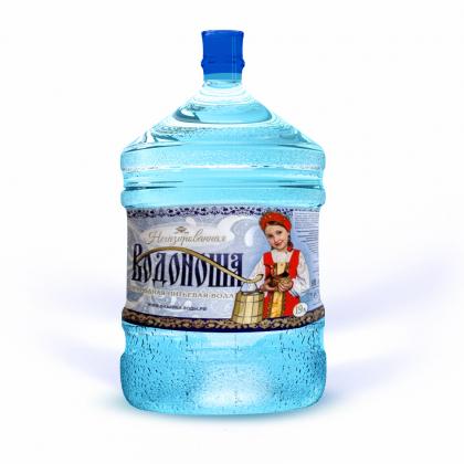 """Вода питьевая """"Водоноша"""" 19 л. в одноразовой таре"""