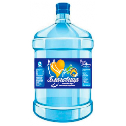 """Вода """" Благовица """" 19 литров в оборотной таре"""