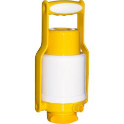 Помпа для воды Дельфин Эко Плюс желтая (в пакете)