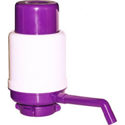 Помпа для воды Дельфин Эко фиолетовая (в пакете)