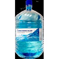 """Вода питьевая """"Томилинская"""" в одноразовой таре 19 л."""